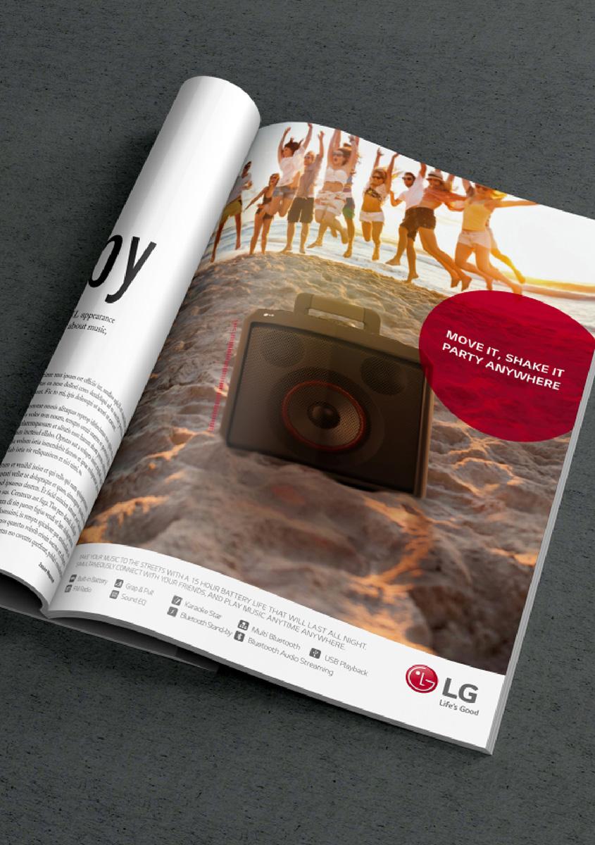 LG전자 광고