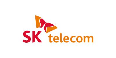 SK telecom SK텔레콤 로고
